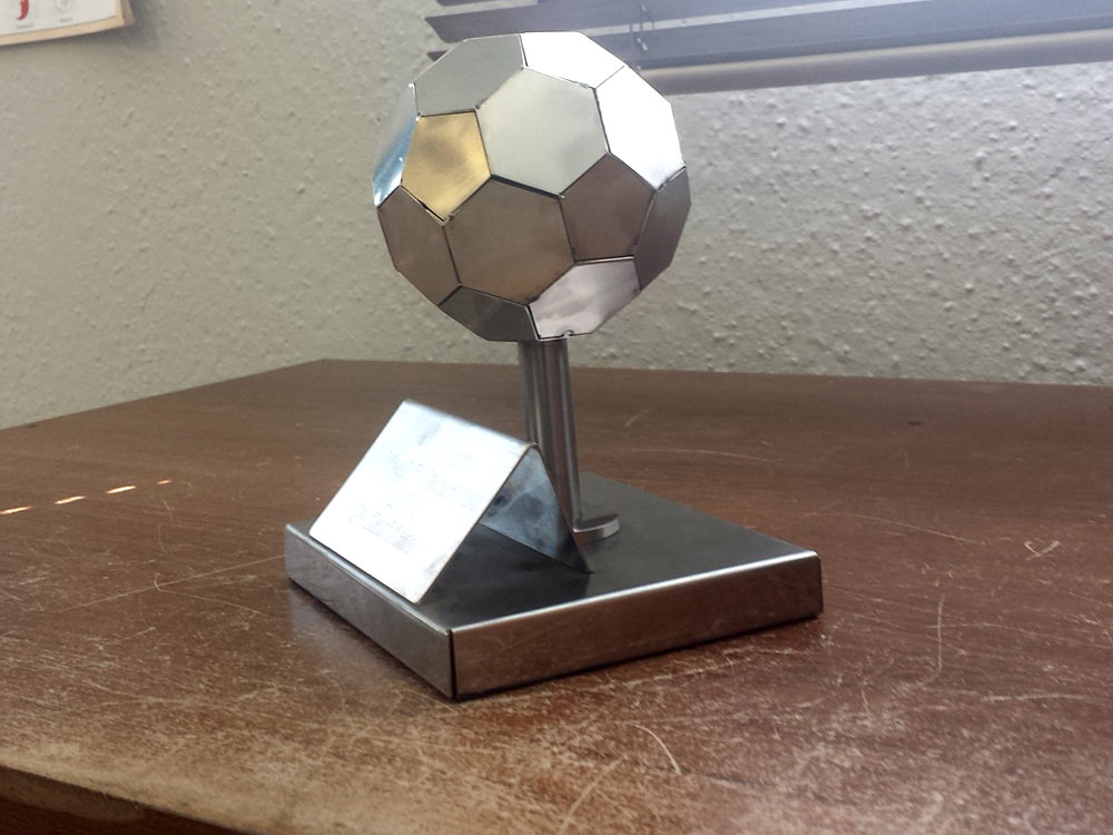 Trofeu fútbol
