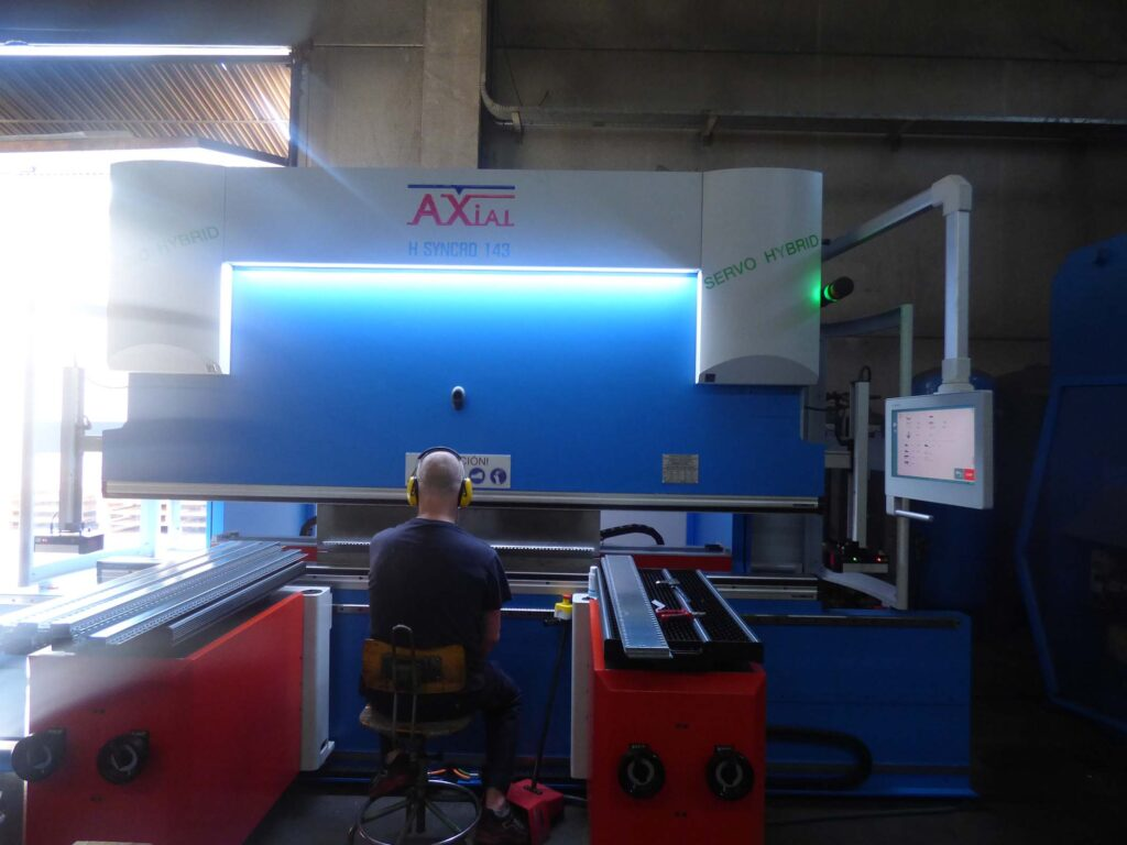 Plegadora Axial