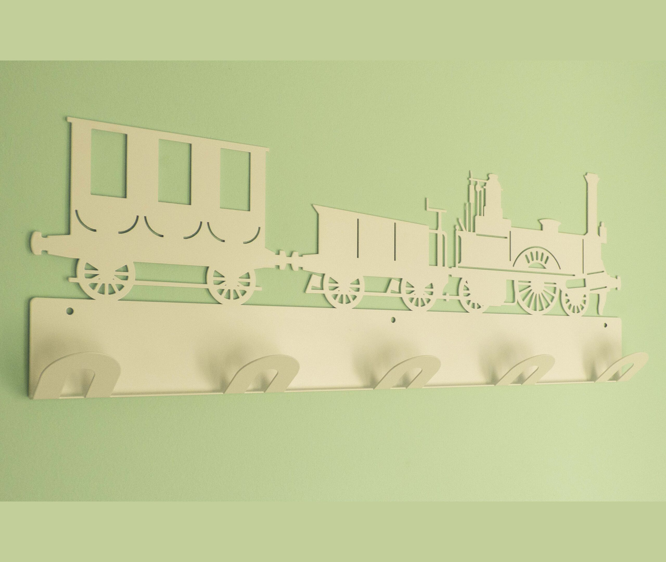 Perchero infantil pared